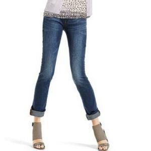 Cabi Slim Boyfriend Jeans Size 6 Blue Denim